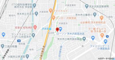 【地図】スプランディッド南茨木