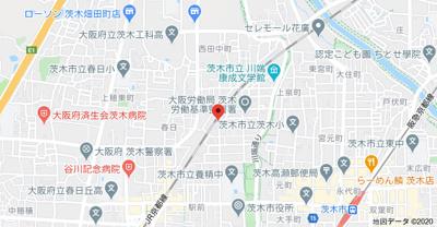 【地図】山崎マンション13