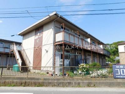 【外観】桔梗ハイツC棟