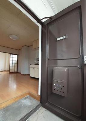【玄関】エコーアパート