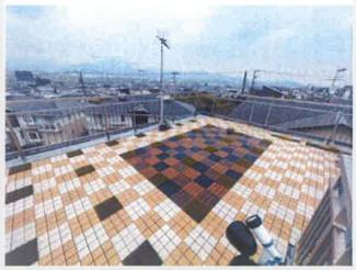屋上からの眺望良好で、天気が良い日には富士山や大山を見渡す事が出来ます。 水栓も完備しているのでBBQをする際にも大変便利です。