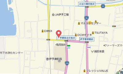 【地図】カルム新川 A棟