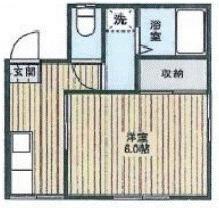【間取り】千葉県野田市山崎一棟アパート
