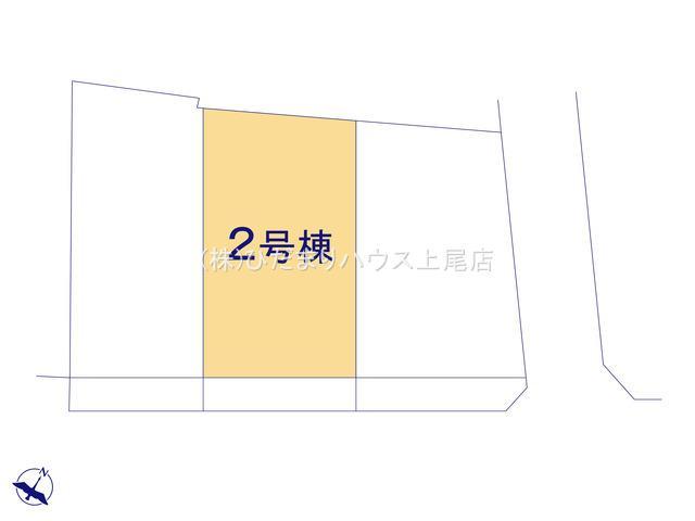 【区画図】北本市本町7丁目 新築一戸建て 02