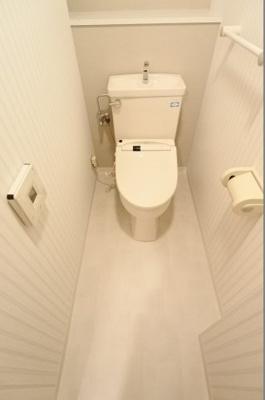 【トイレ】グランドメゾン松屋町
