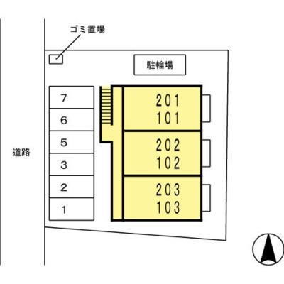 【区画図】メゾンボナール