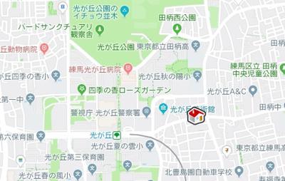 【地図】レオパレス13STONE Ⅱ(29480-207)