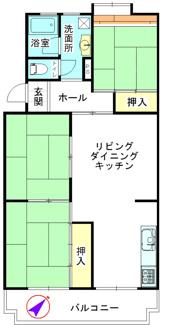 朝霞田島団地4号棟