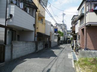 【前面道路含む現地写真】尼崎市常松 中古戸建