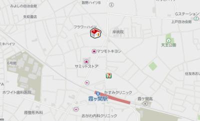 【地図】レオパレスグランツⅡ(39775-206)
