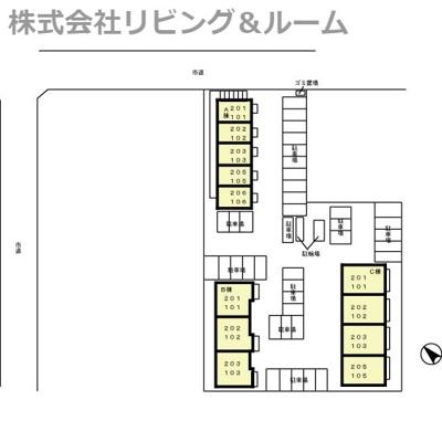 【区画図】ポートスクエア・A棟