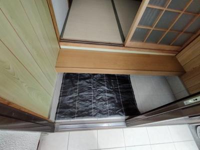 【玄関】西岩田1丁目貸家