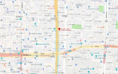 【地図】ブランシェ松屋町(旧ペントハウス松屋町)