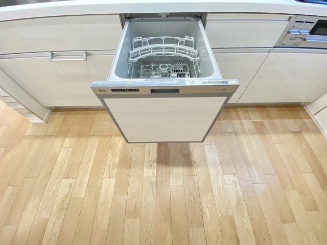 施工例。食洗器が付いてます。