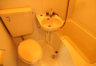 【浴室】《高稼働!木造10.43%》大和市深見西2丁目一棟アパート
