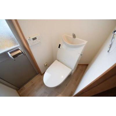 【トイレ】北二ツ杁戸建賃貸