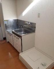 【キッチン】相模原市南区大野台4丁目一棟アパート