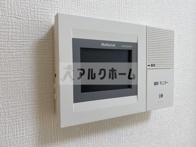 第6コーポ平野(柏原市平野・法善寺駅) TVモニターホン