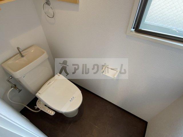 第6コーポ平野(柏原市平野・法善寺駅) お手洗い