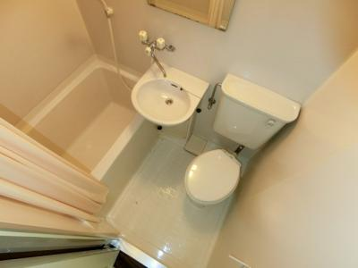 【浴室】山武市上横地アパート