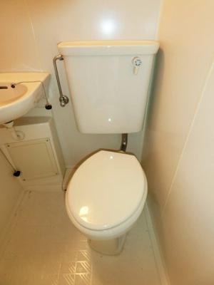 【トイレ】山武市上横地アパート