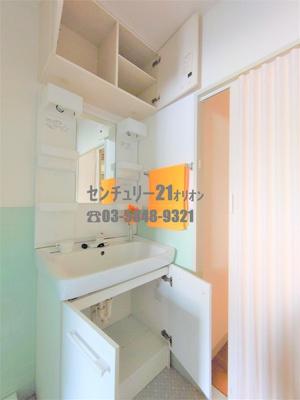 【洗面所】アップルハイツI号棟-1F