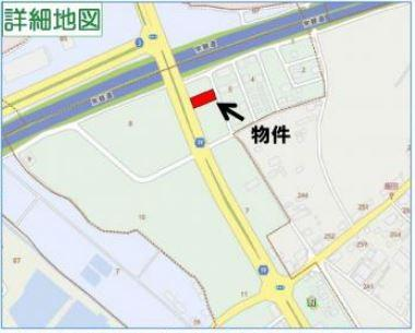 【地図】つくば市みどりの東 第2種住居地域 一棟ビル