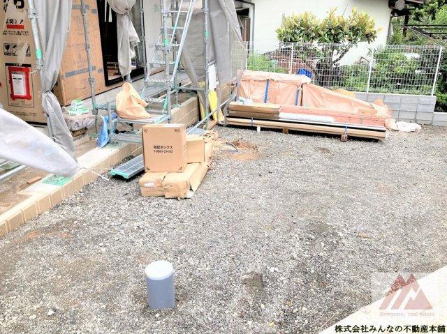 【駐車場】鳥栖市田代本町オール電化新築戸建 3号棟  アーネストワン