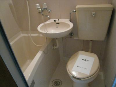 バス・洗面台・トイレ(同一仕様写真)