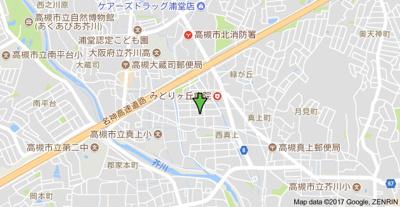 【地図】山本ハイツ (株)Roots