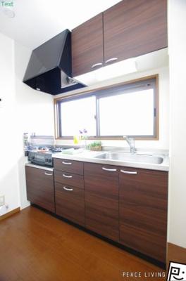 【キッチン】グランパルク大坪 A棟