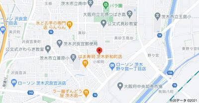 【地図】ハイツライラック