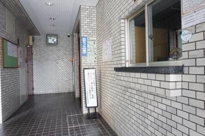 【エントランス】ルックハイツ北新宿壱番館