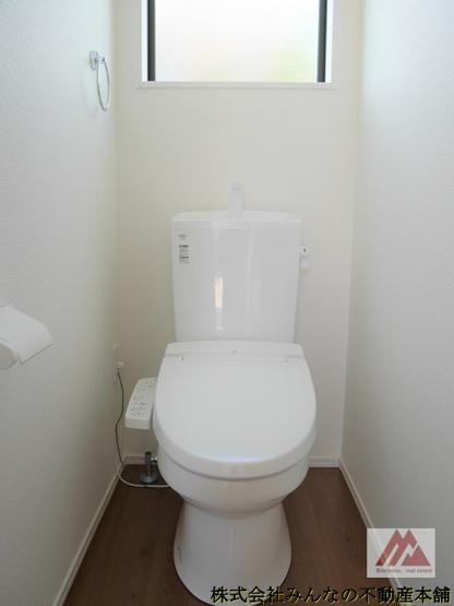 【トイレ】久留米市宮ノ陣大杜 1期 1号棟 オール電化 ケイアイスタービルド