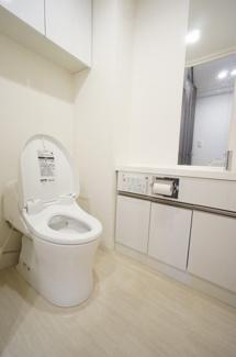 【トイレ】クリーンリバーフィネス手稲ステーションフロント