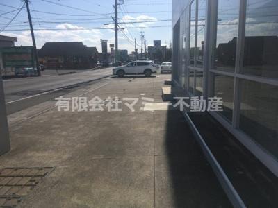 【外観】日永西3丁目店舗