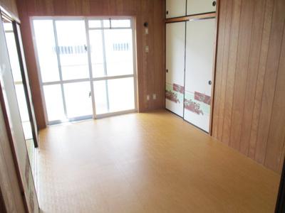 【洋室】大城アパート3