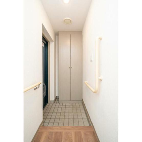 きれいな玄関です※写真は同タイプ住戸です。