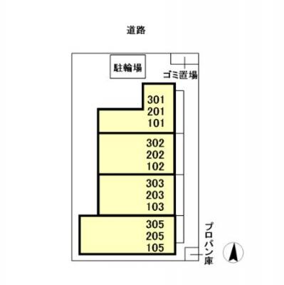 【区画図】TREBINAウエスト