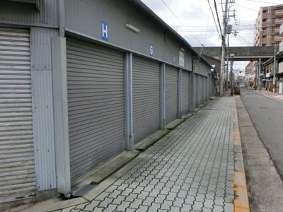 【外観】駒川1丁目倉庫車庫