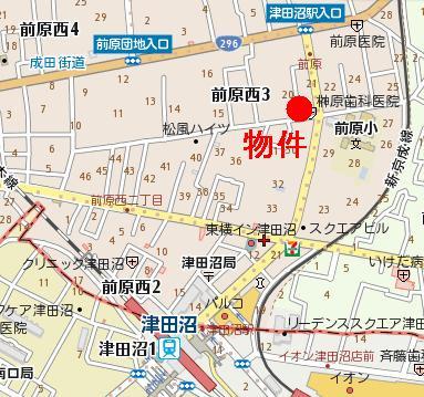 【地図】アーバンライフ前原