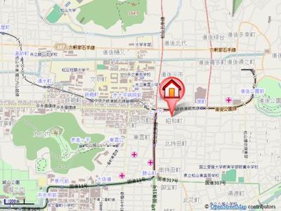【地図】グレースレジデンス・