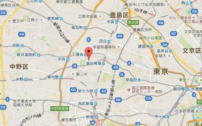 エクセル・ワン高田馬場の所在地