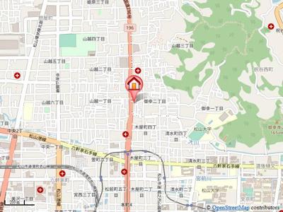 【地図】フォルテ御幸・
