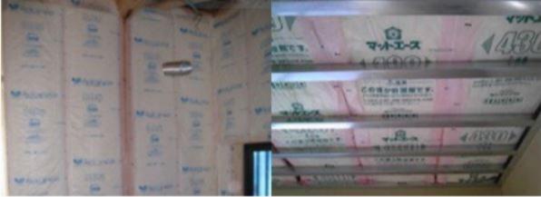 天井・壁の断熱材は断熱性好評のアクリアネクスト10K を採用