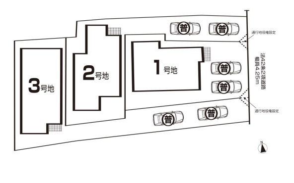 区画図です。3号地です。