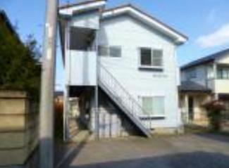 【外観】栃木県下野市下古山一棟アパート