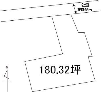 【土地図】新荘2丁目土地