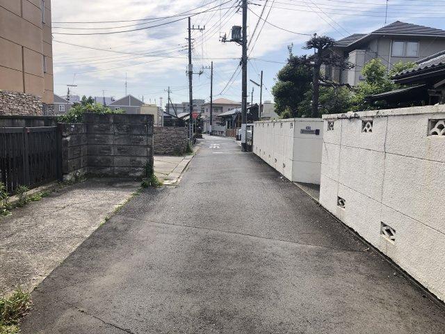 【前面道路含む現地写真】新荘2丁目土地