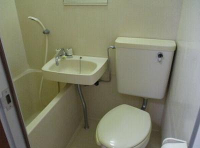 【浴室】ロッジ・サンフラワー